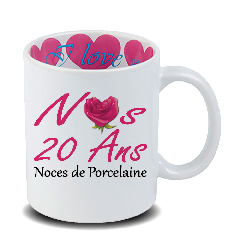 Mug Inox Anniversaire De Mariage