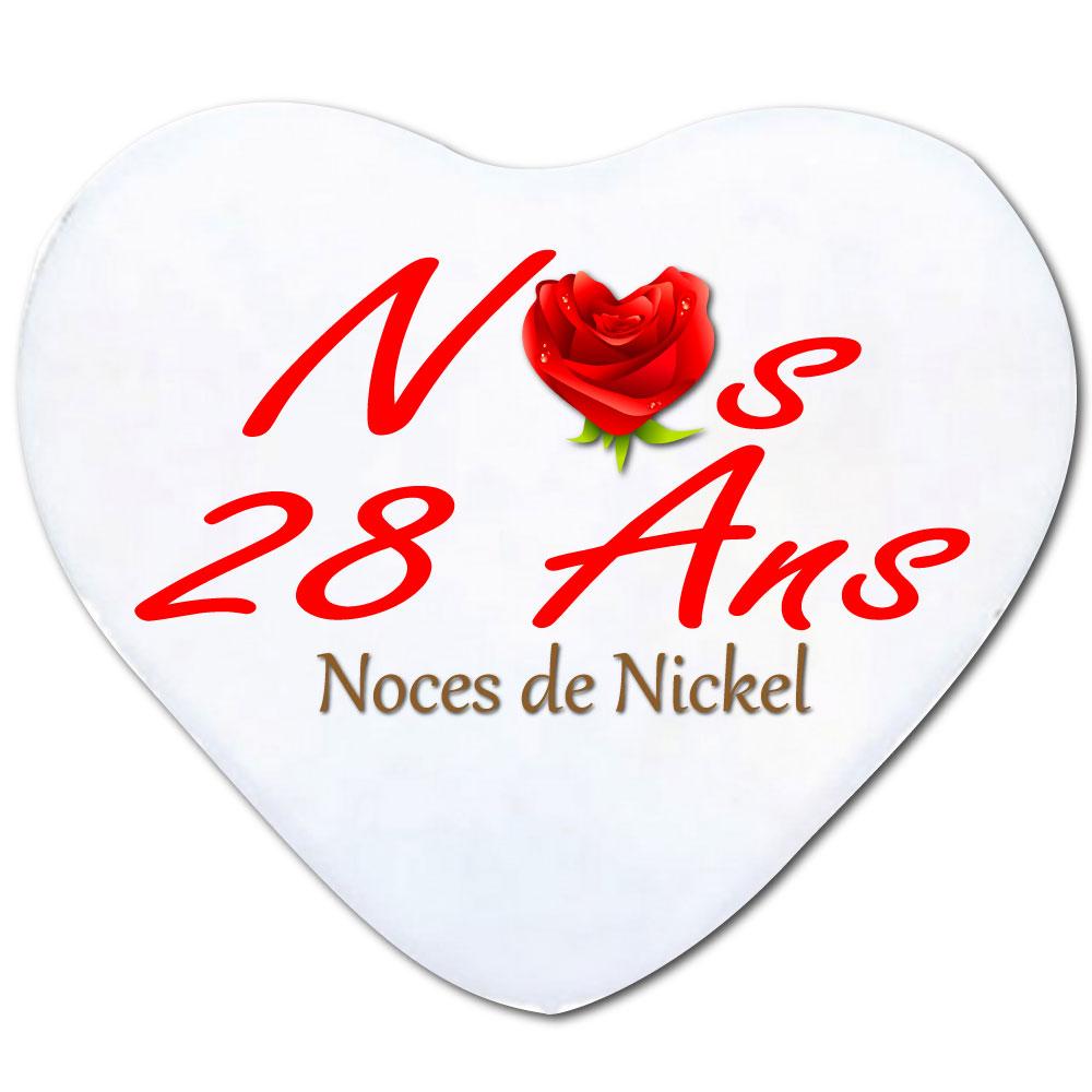 Coussin 28 Ans De Nickel