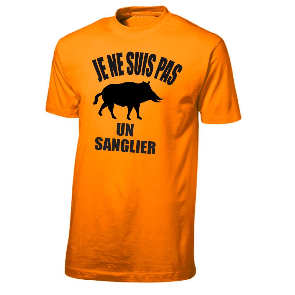 Tee Shirt Chasse Id/ée Cadeau Chasseur Sanglier stylis/é
