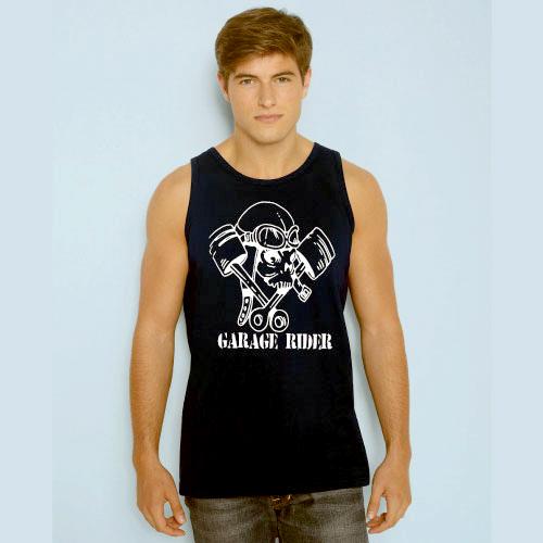 T shirts pour tous les go ts t shirt garage rider for Garage pour tous