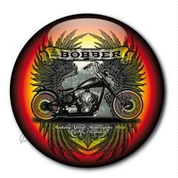 Badge pin's bobber choppers custom bike