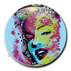 Badge pin's marilyn monroe