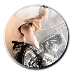Badge pin's bobber choppers sexy