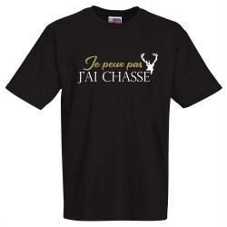 tee shirt humoristique chasse